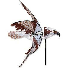 Flying Osprey Bird Staked Wind Spinner with Pole & Ground Mount PR 25129