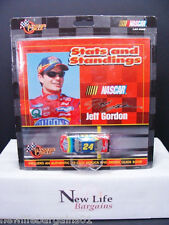 Winners Circle Jeff Gordon Stats and Standing with 1/64 die cast car