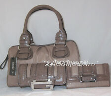 GUESS Tami Tilly Bag Sac a Main Portefeuille Stone Beige Cuir Synthétique Neuf