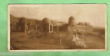 EGYPT  MILITARY POSTCARD -  1918, ON ACTIVE SERVICE, MAMELEUK TOMBS
