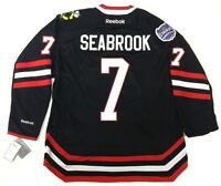 BRENT SEABROOK CHICAGO BLACKHAWKS NHL STADIUM SERIES REEBOK PREMIER JERSEY