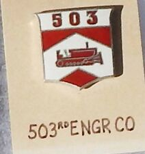503rd Engineer Company Theatre Made DI