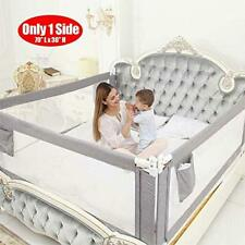Kids Gris vertical de levage lit garde de sécurité protection 180 cm bébé meubles