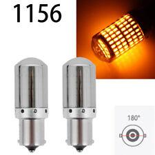 Backup Reverse light 1156 BA15S 7506 P21W 12821 5007 Chrome LED Amber W1 E