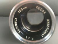 ANGENIEUX 100 mm  3.5  old lens