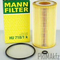 MANN FILTER HU718/1K ÖLFILTER MERCEDES C 203 204 E 210 211 SPRINTER 901 903 906