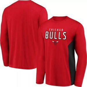 NBA Chicago Bulls Men's Synthetic Long Sleeve T-Shirt NWT