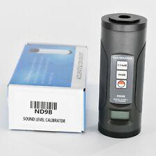 Sound Level Calibrator Nd9b Portable Noise Meter Calibration 94 Db114db