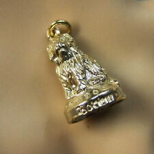 9ct gold new  the world famous grey friars bobby charm