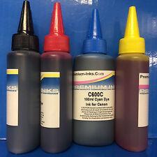 4x100ml Printer Refill INK for Canon Pixma MX375 MX395 MX435 MX455 MX515 MX535