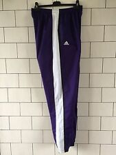 RARE PURPLE VINTAGE ADIDAS BRIGHT SHELLSUIT TRACKSUIT BOTTOMS JOGGERS SWEATPANTS