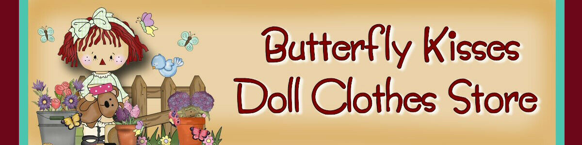 d2472ff913081 Butterfly Kisses Doll Clothes Store | eBay Stores