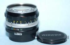 Nikon 28mm (2.8cm) f3.5 Nikkor-H Nippon Kagaku non-Ai manual lens - Nice Mint-!