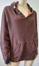 PAUL SMITH JEANS Menswear Orange Black Cotton Speckle Hooded Sweatshirt Top M