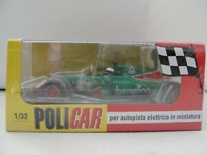 POLICAR MONOPOSTO GEMS F1 EURORACING 185T GREEN CAR07A 1:32 SLOT BNIB LATEST