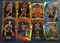 2019-20 Prizm Basketball ROOKIE Color Inserts Parallels Pick Your Card