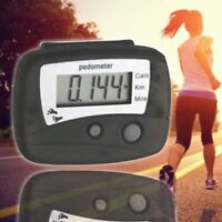 Digital LCD Pedometer Step Run Step Walking Distance Calorie Counter PractickWzY