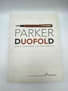 Parker Duofold David Shepherd And Dan Zazove Fountain Pen Multi Autographed Book
