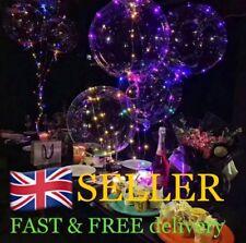 8XLight Up BoBo Balloons Birthday Party Decoration LED String Light Wedding Xmas