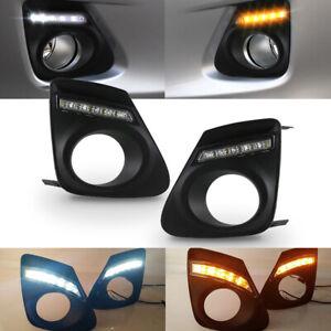 For Toyota Corolla Altis 2010-2013 LED Daytime Running Light DRL Fog Signal Lamp