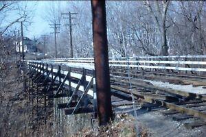 JOHN TROLLEY LINE D.C. TRANSIT BROOKMONT 35mm SLIDE - TROLLEY, TRAIN  ORIGINAL ?