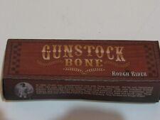 Rough Rider Gunstock Bone Blade Pocket Knife