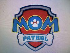1 Bügelbild M Paw Patrol  helle/DUNKLE Stoff Transferfolie Applikation Farbenmix