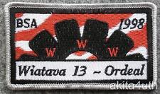 1998 Wiatava Lodge 13 Ordeal - Orange County Council BSA/OA