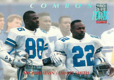 1992 Power Combos #5 Michael Irvin Emmitt Smith