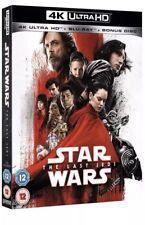 BRAND NEW SEALED - Star Wars: The Last Jedi (4K Ultra HD + Blu-ray) UHD