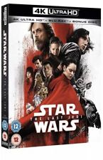 Star Wars The Last Jedi 4k UHD 2d Blu-ray 2017 - Genuine UK SELLER