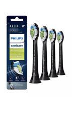 Philips Sonicare DiamondClean Toothbrush Head, 4 Brush Heads, Black, HX6064/95