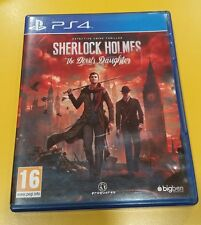 Sherlock Holmes The Devil's Daughter GIOCO PS4 VERSIONE ITALIANA