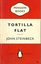 VINTAGE PAPERBACK BOOK: TORTILLA FLAT by John Steinbeck (1960)
