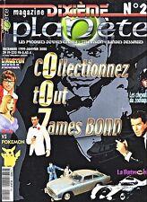 Revue Dixième Planète Numéro 2 James Bond 007 MAGAZINE Décembre 1999 Epuisé