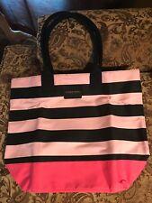 NEW Victoria's/Victorias Secret Large Tote Bag 2017 Limited Edition Pink/Black