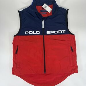 BNWT Polo Sport Ralph Lauren Limited Edition Olympic Vest Silver Men's Sm $298