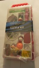 Essentials South Bend 137 Piece Deluxe Tackle Kit   Family Fishing Lures, Hooks