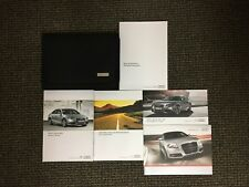 11 2011 Audi A4 Owners Owner's Manual Set
