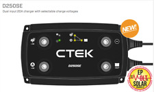 NEW CTEK D250S E Dual Input Battery Charger Split Charge Solar Alternator