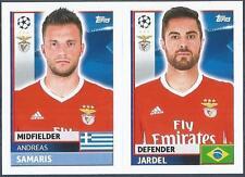 TOPPS CHAMPIONS LEAGUE-2016-17- #BEN10-11-BENFICA-JARDEL / ANDREAS SAMARIS