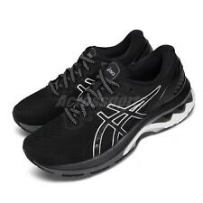 Asics Gel-Kayano 27 D Wide Black Silver White Women Running Shoes 1012A713-001