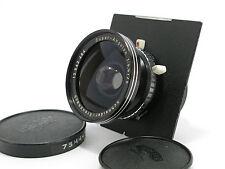 [Exc+]Schneider Super Angulon 75mm f/5.6 Large Format Synchro Compur Lens f/s