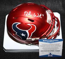 Deshaun Watson signed Blaze Mini Helmet, Houston Texans, Clemson, Beckett BAS