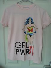 Pink Wonder Woman Girl Power T-shirt size 6