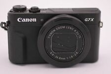 Canon PowerShot G7 X Mark II 20.1 MP Digital Camera - Black (Flash Issue)