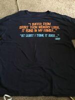 Disney World Disneyland Pixar Finding Nemo Dory Quote Shirt Ellen Adult XL T