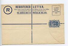 New Zealand postal stationery registered letter envelope unused EB1a (Q366)