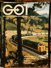 RAILROAD BROCHURE NORTHERN PACIFIC GO! 1970