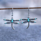 Fashion Silver Animal Dragonfly Turquoise Pendant Wedding Jewelry Party Gift